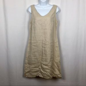 Cynthia Rowley Linen sleeveless shift dress 4